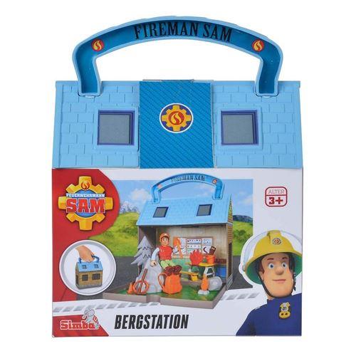 Simba Toys 109251032 Set de sauvetage en montagne de pompier Sam avec 2 figurines
