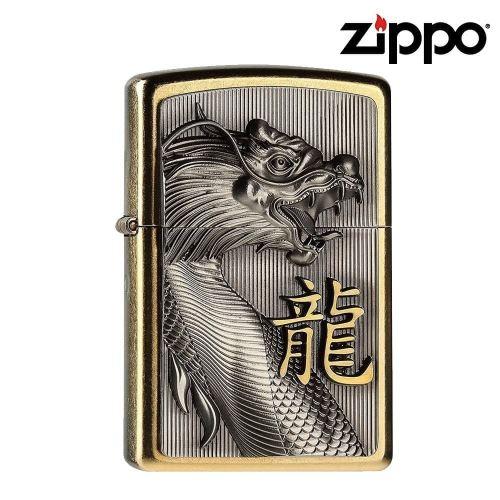Briquet Zippo Dragon d'or