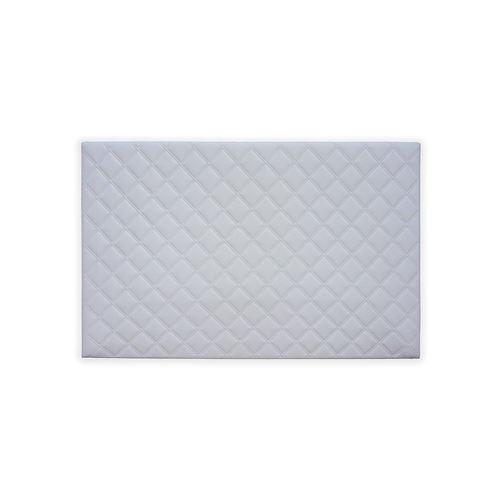 Tête de lit Chester REVANCE - Simili cuir Blanc - 140 cm