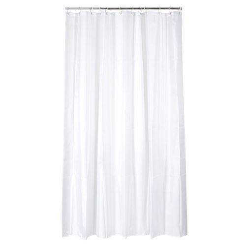 Rideau douche Eva 12 anneaux blanc