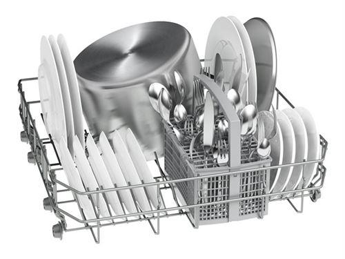 Bosch Serie   2 Silence XXL SBV24AX00E - Lave-vaisselle - intégrable - largeur : 59.8 cm - profondeur : 55 cm - hauteur : 86.5 cm