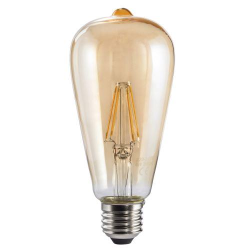 Xavax Ampoule filament à LED, E27, 400lm, 35W, blanc chaud