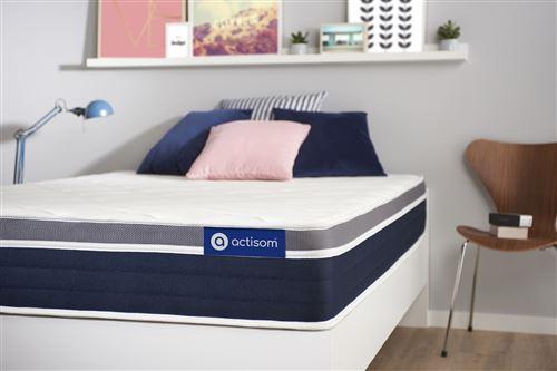 ACTIMEMO CONFORT Matelas mémoire de forme 90x190 cm Maxi épaisseur 7zones de confort