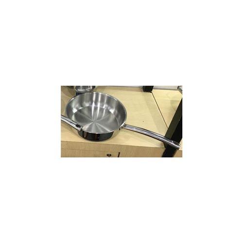 Poêle - D 25,5 cm - Acier Inoxydable