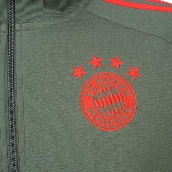 Vestes replica officielle Adidas Bayern veste h 201819 Gris taille : M réf : 39005