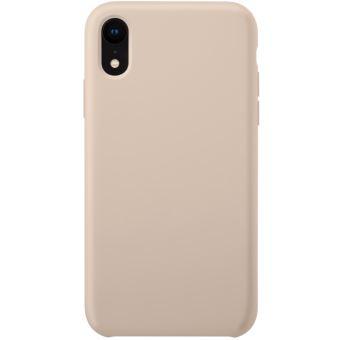 Coque en Gel de Silicone Doux pour Apple iPhone XR, Rose Sable - The Kase Paris