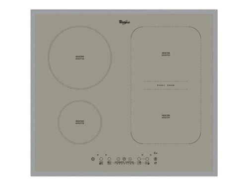 Whirlpool ACM 808/BA/S - Table de cuisson à induction - 4 plaques de cuisson - Niche - largeur : 56 cm - profondeur : 49 cm - argent