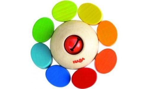 Hochet ronde des couleurs Haba