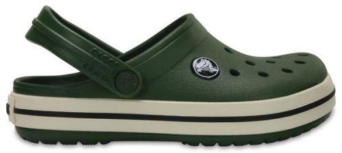 Crocs crocband enfants sabots <strong>chaussures</strong> sandales en forest vert stucco 204537 34k