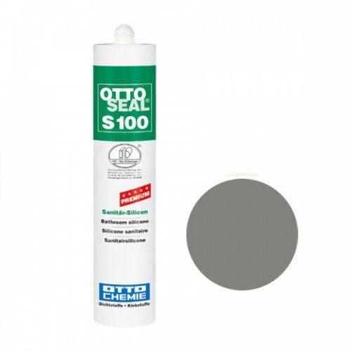 OTTO CHEMIE OTTOSEAL S100 gris Agate (C62) interne couleur Mastic Silicone