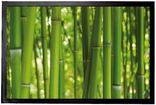 Bambous Paillasson Essuie-Pieds - Forêt De Bambou (40x60 cm)