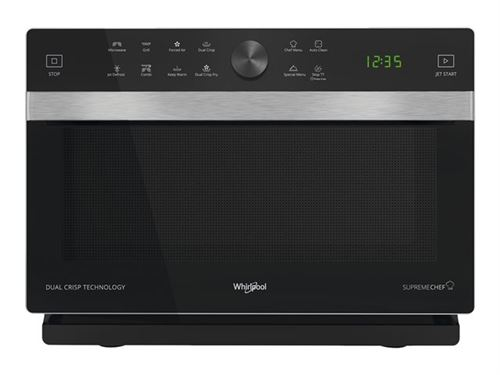 Whirlpool Supreme Chef MWP 338 SB - Four micro-ondes combiné - grill - pose libre - 33 litres - 900 Watt - argent