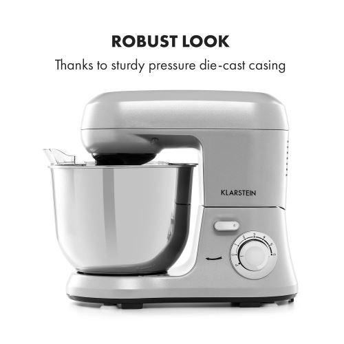 130 Sur Klarstein Bella Robusta Metal Robot De Cuisine