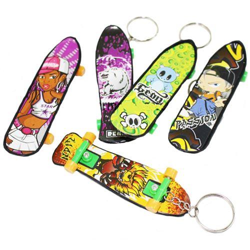 1 Porte Cle Skateboard 9.5 Cm Skate Jouet