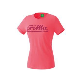 c2a37d6b30d67c -2€90 sur T-shirt junior femme Erima retro 14 ans Rose - Hauts