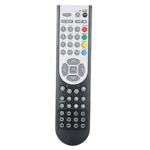 Télécommande de Télévision HD RC1900 pour TV OKI 16 / 19 / 22 / 24 / 26 / 32po - noir