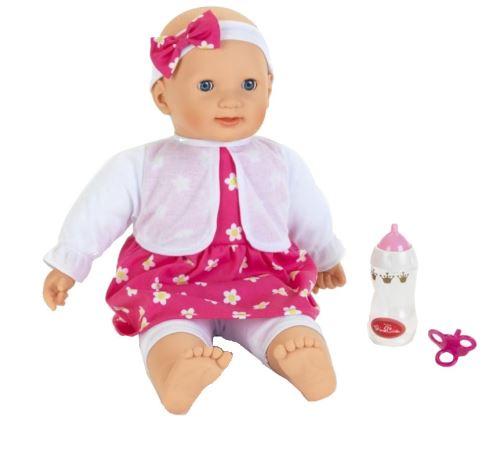 Klein poupée bébé Princess Coralie 46 cm rose/blanc