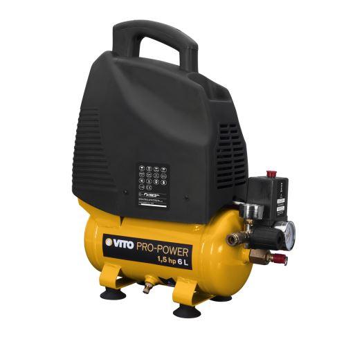 Compresseur sans huile 1.5 cv / 230 V VITOPOWER 1100 W 6 litres