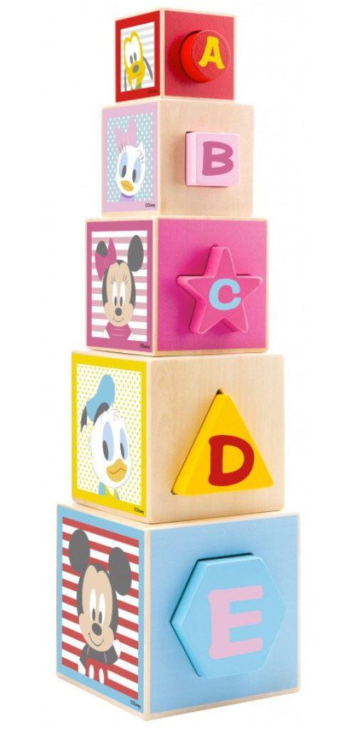 Disney tour empilable Mickey Mouse junior 46 cm 10 pièces