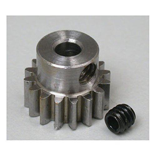 Pignon de moteur en alliage d'acier 1116 Robinson Racing Products, pas de 1/8 Bore.6 Mod, 16 dents