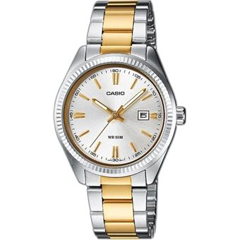 Montre Femme Casio Collection LTP 1302SG 7AVEF Argent  FZumi