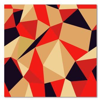 Cadre Mural Deco Tableau Imprime Moderne Canevas Figures Geometriques Cubisme 2 50x50 Achat Prix Fnac