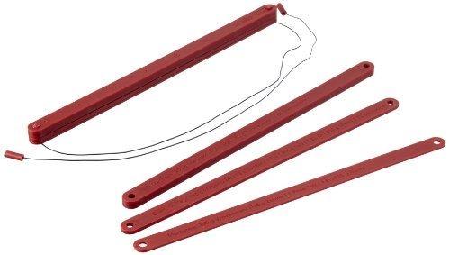 Teigstäbe 3paar 3,5,10mm l40cm