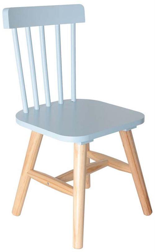 Chaise enfant en bois style bistrot