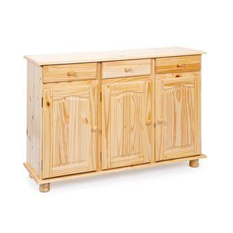 15% sur Commode bahut buffet console meuble de rangement cuisine ...