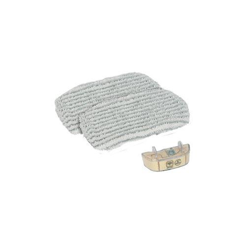 Kit d'entretien (2 lingettes micro-fibres + 1 cartouche anti-calcaire) pour nettoyeur vapeur steam power rowenta - m123840