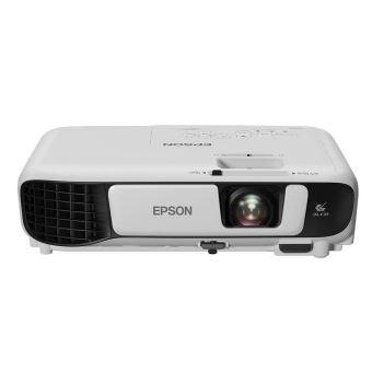 Vidéoprojecteur Tri-LCD Epson EB-W42 Blanc et Noir