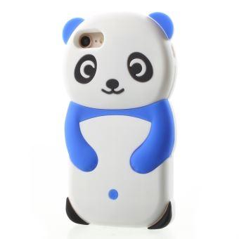 coque iphone 8 3d silicone panda