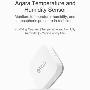 Aqara Temp/érature de pression dair Humidit/é Environnement Capteur de contr/ôle sans fil