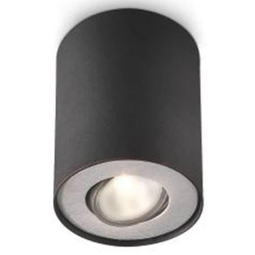 Philips Pillar Single Spot Black 1 x 50 W 230 V