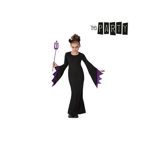 Déguisement pour Enfants Reine des ténèbres (Taille 3-4 Ans)