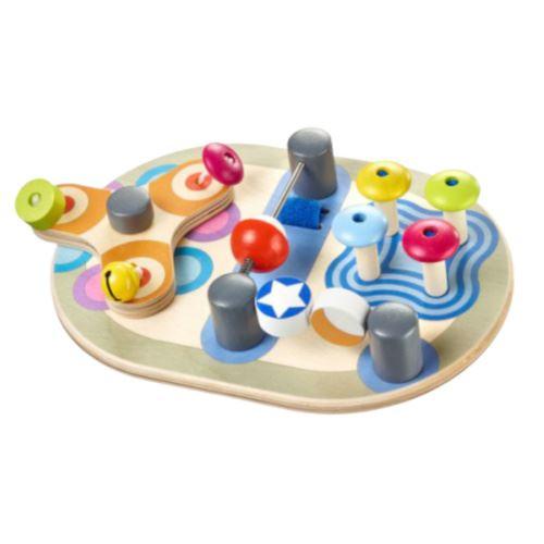 Selecta Spielzeug jouets d'activité Spintivityjunior 22 cm en bois