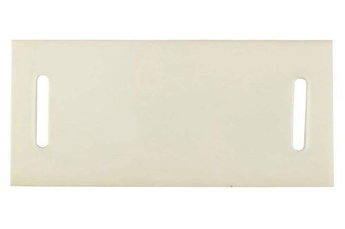 Wolfcraft 3283000 1 Lot de 2 Plaques Protège-sangles Longueur 22 Cm Largeur 10 Cm