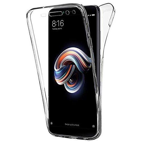 AURSTORE Coque IPHONE 6G/6S - Protection intégrale Avant arrière en Rigide, Housse Etui Tactile 360 degré - Antichoc, Transparent 6G/6S