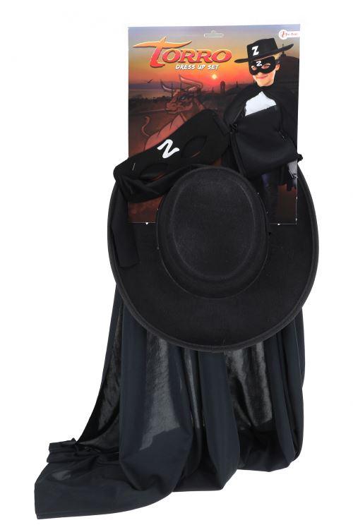 Toi-Toys Kit robe Zorro noir 30 cm