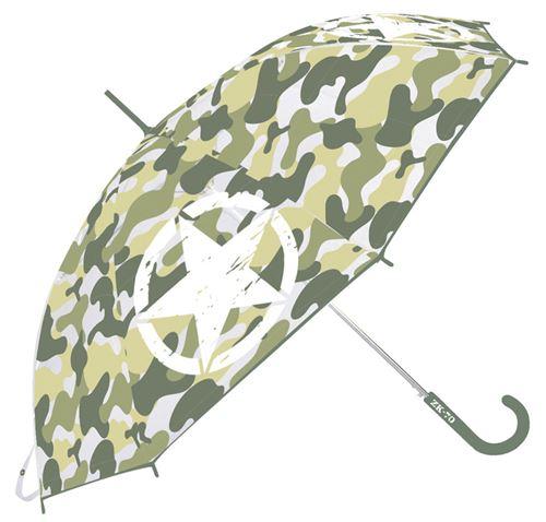 Arditex parapluie d'enfant armée imprimé transparent garçons 82 cm EVA