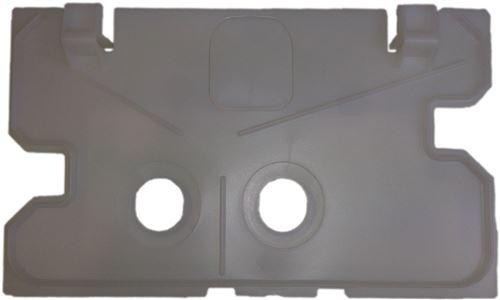Plaque de protection pour U100/UP172 GEBERIT, référence 241.343.00.1