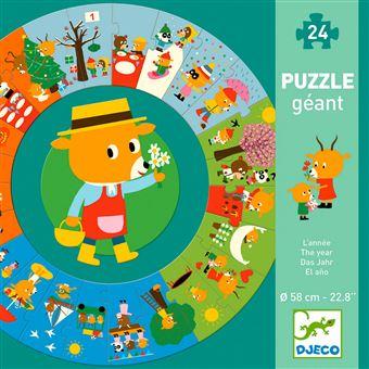 Puzzle géant L'année Djeco