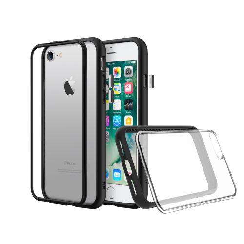Coque antichoc Noire Modulaire Rhinoshield Mod NX pour iPhone 7 8 SE 2020