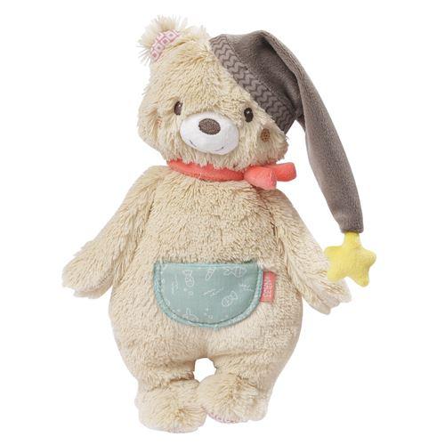 Fehn ours en peluche Bruno25 cm beige