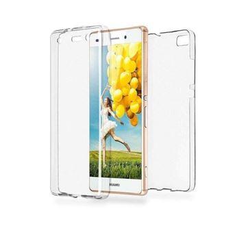 Pour Huawei P8 Lite 2017, Coque Etui Silicone Gel Integrale 360 Protection Incassable