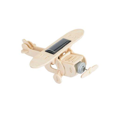 Heico - Egmont Toys Avion A Construire avec Panneau Solaire, 630539