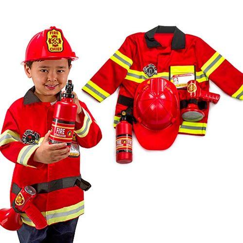 Déguisement De Pompier Enfant 3 À 6 Ans