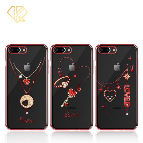 coque iphone 8 plus collier