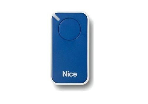 Télécommande inti 1 b - 1 canal bleue - NICE