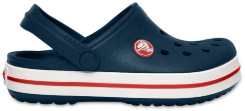 Crocs crocband enfants sabots <strong>chaussures</strong> sandales en bleu marine rouge 204537 485